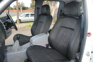 2009 Ford Ranger PK XL (4x2) White 5 Speed Manual Dual Cab Pick-up