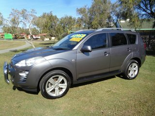 2011 Peugeot 4007 MY12 ST DCS Auto HDi Grey 6 Speed Sports Automatic Dual Clutch Wagon.