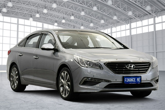 Used Hyundai Sonata LF Premium Victoria Park, 2015 Hyundai Sonata LF Premium Silver 6 Speed Sports Automatic Sedan