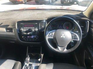 2013 Mitsubishi Outlander ZJ MY13 ES 2WD Orange 6 Speed Constant Variable Wagon