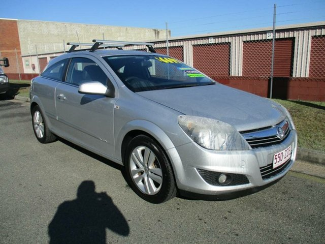 Used Holden Astra AH MY07.5 CDX Kippa-Ring, 2007 Holden Astra AH MY07.5 CDX Silver 4 Speed Automatic Coupe