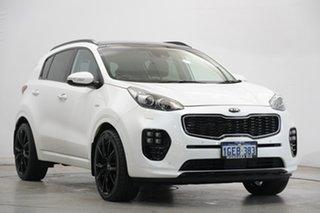 2016 Kia Sportage QL MY16 Platinum AWD White 6 Speed Sports Automatic Wagon