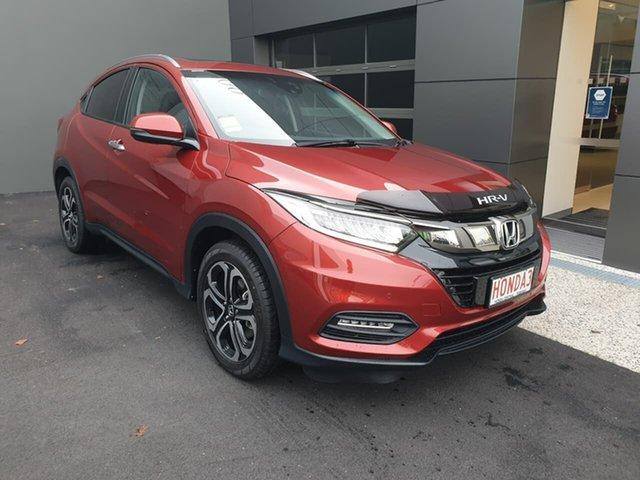 Demo Honda HR-V MY21 VTi-LX Hobart, 2021 Honda HR-V MY21 VTi-LX Red 1 Speed Constant Variable Hatchback