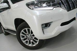 2018 Toyota Landcruiser Prado GDJ150R MY17 VX (4x4) White 6 Speed Automatic Wagon.