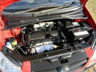 2009 Hyundai Getz TB MY09 S Red 4 Speed Automatic Hatchback