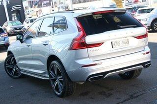 2020 Volvo XC60 UZ MY20 T6 AWD R-Design Silver 8 Speed Sports Automatic Wagon.