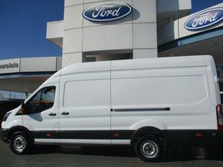 2018 Ford Transit VO MY17.75 350e Jumbo (SRW) High Roof White 6 Speed Manual Van.