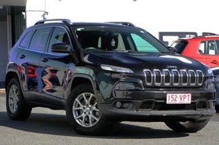 2014 Jeep Cherokee KL Longitude Black 9 Speed Sports Automatic Wagon.