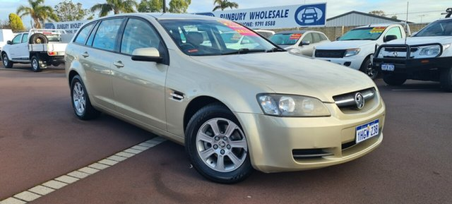 Used Holden Commodore VE MY09 Omega Sportwagon East Bunbury, 2008 Holden Commodore VE MY09 Omega Sportwagon Gold 4 Speed Automatic Wagon