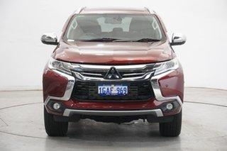 2016 Mitsubishi Pajero Sport QE MY16 Exceed Terra Rossa 8 Speed Sports Automatic Wagon.