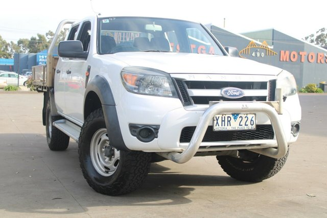 Used Ford Ranger PK XL (4x2) West Footscray, 2009 Ford Ranger PK XL (4x2) White 5 Speed Manual Dual Cab Pick-up