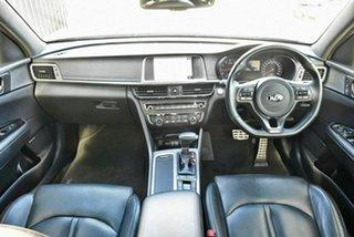 2015 Kia Optima JF MY16 GT Black 6 Speed Sports Automatic Sedan.