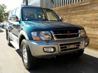 2000 Mitsubishi Pajero NM Exceed Green 5 Speed Sports Automatic Wagon.