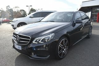 2015 Mercedes-Benz E-Class W212 805MY E400 7G-Tronic + Black 7 Speed Sports Automatic Sedan.