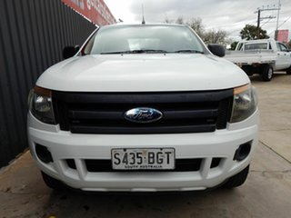 2012 Ford Ranger PX XL Hi-Rider White 6 Speed Sports Automatic Utility.