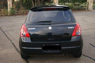 2009 Suzuki Swift EZ MY07 Update RE.4 Black 4 Speed Automatic Hatchback.
