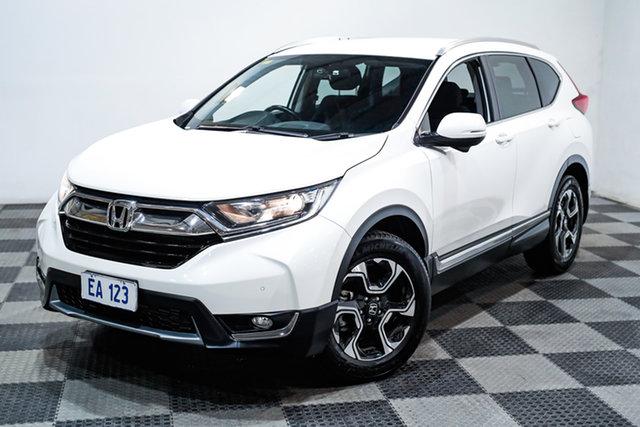 Used Honda CR-V RW MY18 VTi-S 4WD Edgewater, 2018 Honda CR-V RW MY18 VTi-S 4WD White 1 Speed Constant Variable Wagon