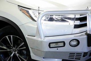 2017 Toyota Kluger GSU55R GX AWD Crystal Pearl 8 Speed Sports Automatic Wagon.