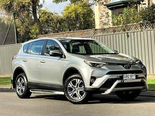 2018 Toyota RAV4 ZSA42R GX 2WD Silver 7 Speed Constant Variable Wagon.