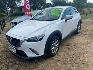 2018 Mazda CX-3 MAXX White 6 Speed Automatic Wagon.