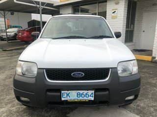 2001 Ford Escape BA XLT White 4 Speed Automatic SUV