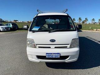 2004 Kia Pregio CT White 5 Speed Manual Van.