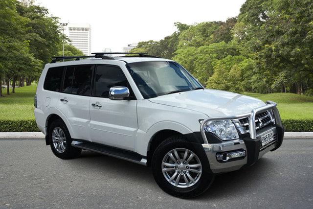 Used Mitsubishi Pajero NX MY17 GLS Paradise, 2017 Mitsubishi Pajero NX MY17 GLS White 5 Speed Sports Automatic Wagon