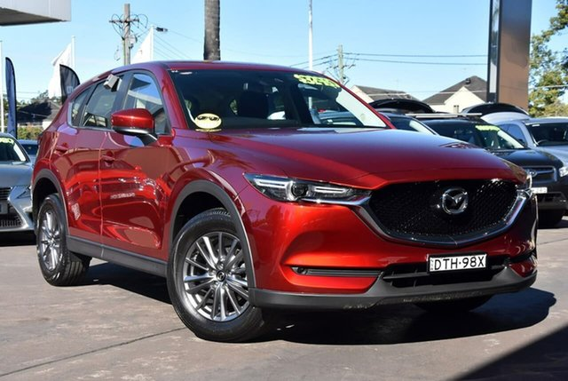 Used Mazda CX-5 KF2W7A Maxx SKYACTIV-Drive FWD Sport Waitara, 2017 Mazda CX-5 KF2W7A Maxx SKYACTIV-Drive FWD Sport Red 6 Speed Sports Automatic Wagon