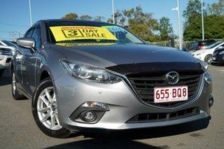 2016 Mazda 3 BM5478 Maxx SKYACTIV-Drive Silver 6 Speed Sports Automatic Hatchback.