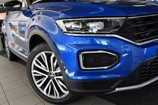 2021 Volkswagen T-ROC A1 MY21 110TSI Style Ravenna Blue 8 Speed Sports Automatic Wagon.