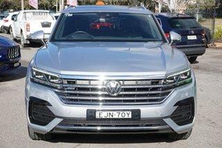 2019 Volkswagen Touareg CR MY20 190TDI Tiptronic 4MOTION Premium Silver 8 Speed Sports Automatic.