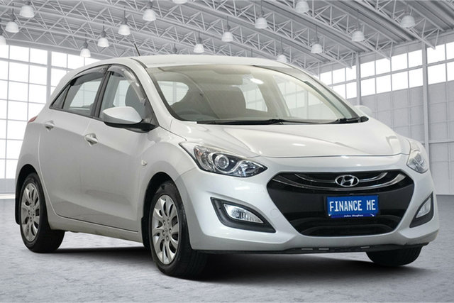 Used Hyundai i30 GD3 Series II MY16 Active Victoria Park, 2015 Hyundai i30 GD3 Series II MY16 Active Sleek Silver 6 Speed Sports Automatic Hatchback