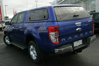 2016 Ford Ranger PX MkII XLT Double Cab Blue 6 Speed Sports Automatic Utility.