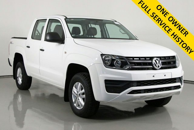 Used Volkswagen Amarok 2H MY17 TDI420 Core Edition (4x4) Bentley, 2017 Volkswagen Amarok 2H MY17 TDI420 Core Edition (4x4) White 8 Speed Automatic Dual Cab Utility