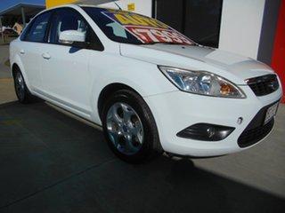 2011 Ford Focus LV Mk II CL White 4 Speed Sports Automatic Sedan.