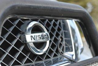 2014 Nissan Navara D40 S6 MY12 ST Silver 6 Speed Manual Utility