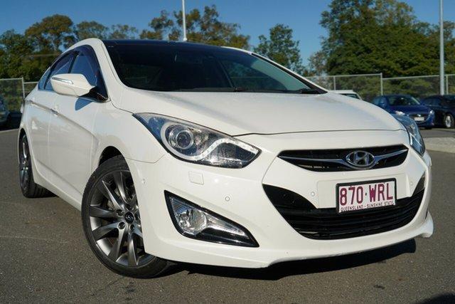 Used Hyundai i40 VF2 Premium Hillcrest, 2013 Hyundai i40 VF2 Premium White 6 Speed Sports Automatic Sedan
