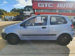 2003 Hyundai Getz TB GL Silver 5 Speed Manual Hatchback.
