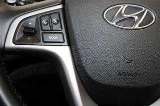 2017 Hyundai Accent RB6 MY18 Sport Blue 6 Speed Manual Hatchback