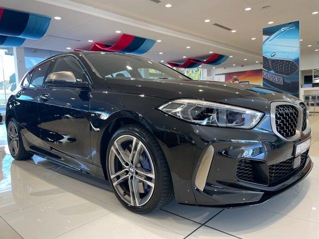 Demo BMW 1 Series F40 M135i Steptronic xDrive Newcastle West, 2020 BMW 1 Series F40 M135i Steptronic xDrive Black Sapphire 8 Speed Sports Automatic Hatchback