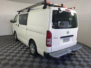 2012 Toyota HiAce KDH201R MY12 LWB White 5 Speed Manual Van