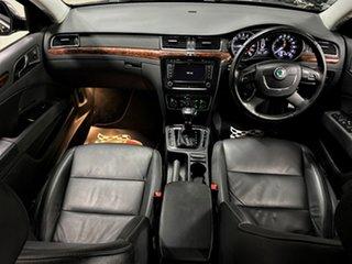 2012 Skoda Superb 3T MY12 Elegance DSG 103TDI Metallic Black 6 Speed Sports Automatic Dual Clutch