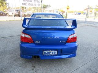 2004 Subaru Impreza S WRX (AWD) Blue 4 Speed Manual Sedan