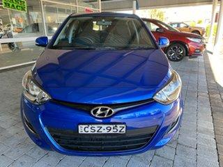 2014 Hyundai i20 Active Blue Automatic Hatchback.