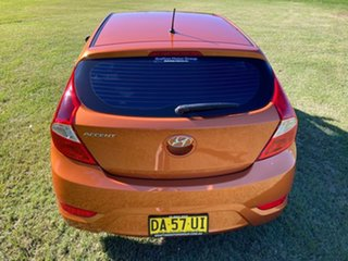 2016 Hyundai Accent RB3 MY16 Active R9a-Vitamin C Pearl Metallic 6 Speed Constant Variable Hatchback