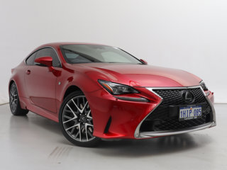 2018 Lexus RC350 GSC10R MY18 Facelift F Sport Red 8 Speed Automatic Coupe.