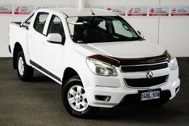 Pre-Owned Holden Colorado RG MY16 LS-X (4x4) Myaree, 2016 Holden Colorado RG MY16 LS-X (4x4) White 6 Speed Automatic Crew Cab Pickup