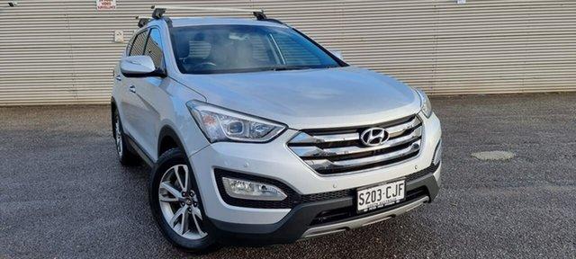 Used Hyundai Santa Fe DM MY14 Elite Elizabeth, 2013 Hyundai Santa Fe DM MY14 Elite Silver 6 Speed Sports Automatic Wagon