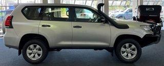 2018 Toyota Landcruiser Prado GDJ150R GX Silver 6 Speed Sports Automatic Wagon.