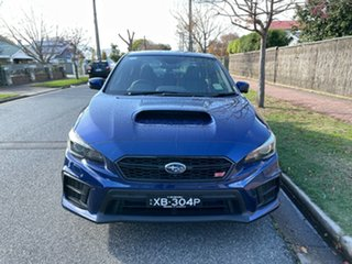 2021 Subaru WRX V1 MY21 STI AWD Premium Lapis Blue 6 Speed Manual Sedan.